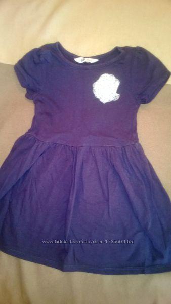 Платье с перламутром H&M на рост 98104
