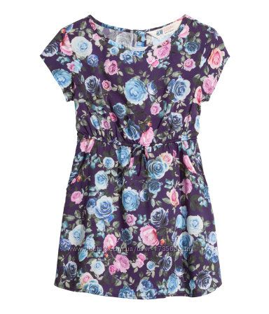 Платье с вискозы H&M
