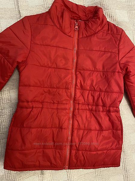 Куртка легкая красная H&M