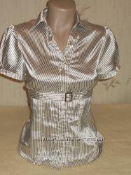 Атласная блуза р. М