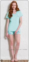 Пижамка Vienetta Secret р. S M футболка, шорты
