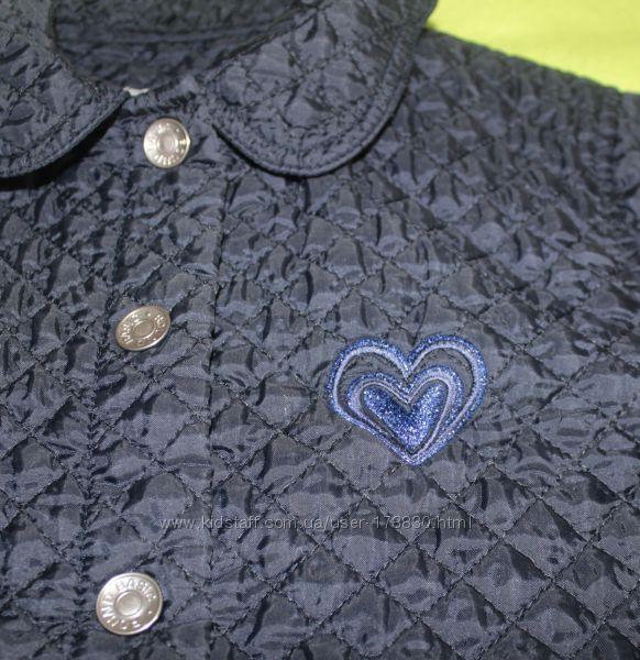 Куртка стеганая Италия 7-8 лет р. 128 см