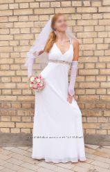 Ніжна весільна сукня американського бренду Betsy&Adam, р. С-М
