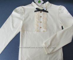 Школьная блузка 140, 146, 152, 158, 164 размер, SMIL Украина качество