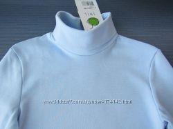 Серый, голубой гольф с отворотом 140, 164 размер SMIL Украина