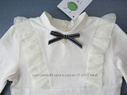 Школьная блузка 2 цвета, 116, 122, 128, 134 размер, SMIL Украина качество