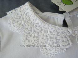 Блуза с кружевным воротником 116-140 SMIL Украина новая коллекция