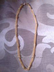 красивое украшение из плетения цепочек
