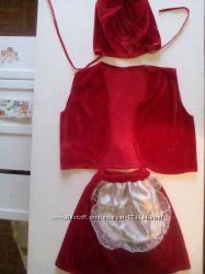 сдаю в прокат платья Красная Шапочка
