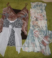 летние нарядные кофточки-маечки под пиджак размер М и Л