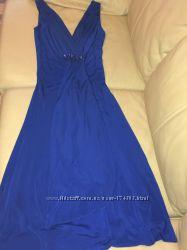 Нарядное платье BESS США королевский синий электрик