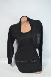 Стильная женская туника удлиненный свитер
