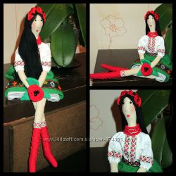 Куклы в  украинском стиле сувенир подарок