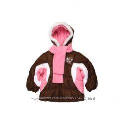 Куртки зимние для девочек 3-6 лет. London Fog Англия