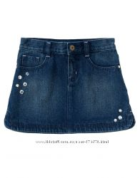 Джинсовые юбки на рост от 120см до 158см. США. Много моделей. Хлопок