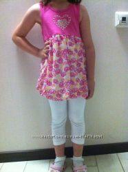 Летние нарядные комплекты для девочек  от 3 до 6лет
