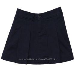 Юбки для девочек 6-11 лет в школу. 100 хлопок саржа ОshKosh США т. синяя