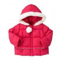 Куртка зимняя для девочки 12-24мес. США