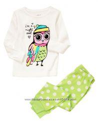 Пижамы для девочек и мальчиков 3-12 лет. Gymboree, Disney, Crazy8, Carters