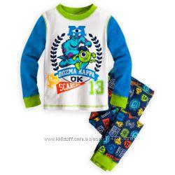 Пижамы для мальчиков 3-8 лет. Disney США. 100хлопок. элит-качество