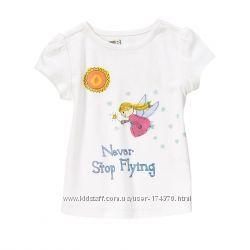 Майки, тенниски, топы, футболки для девочек от 2до 14лет. США, Англия