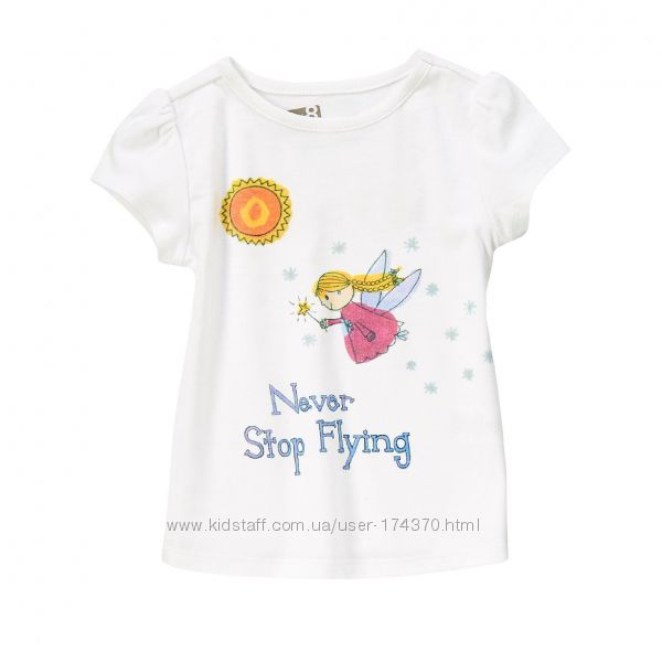 футболки для девочек от 2до 14лет. США, Англия