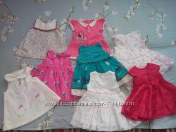 Продам наши фирменные платья на девочку до года, Next, Mayoral, Ms, HM