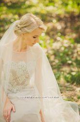 Платье свадебное изысканное