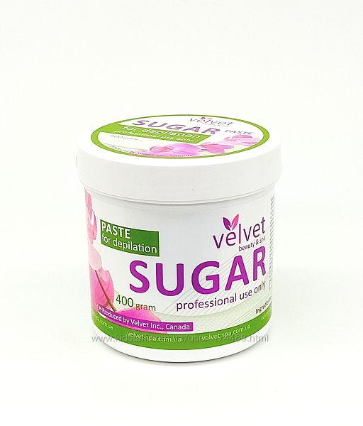 Сахарная паста для шугаринга Velvet а ассортименте