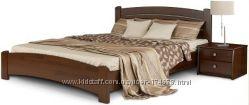 Кровати фабрики Эстелла из натурального дерева