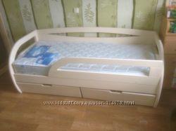 Деревянная кровать Бавария Софт