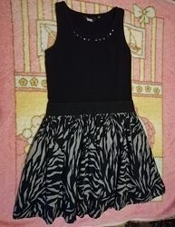 Платье - сарафан, натуральная ткань.