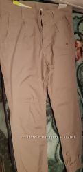 Коттоновые брюки Адидас