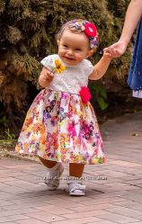 Красочное платьице George на малышку