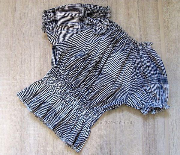 Р.122-140 распродажа детская блузка
