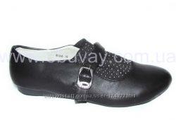 Распродажа р. 33, 34, 35, 36 Детские туфли B&G для школы.