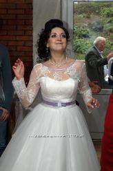 Очень красивое и нежное свадебное платье