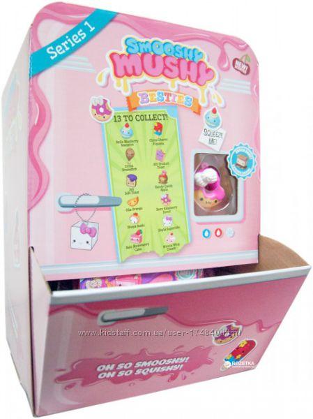 Ароматная игрушка-антистресс Smooshy Mushy Сквиш Мякиш 13 в ассорт.