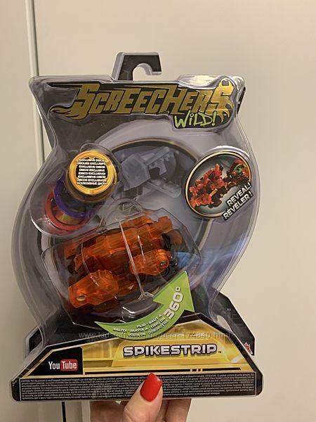 Машинка-Трансформер Screechers Wild L 2 - Спайкстрип