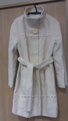 Шикарное белое пальто