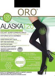 Alaska колготы 120 DEN Oro  Плотные теплые колготки из микрофибры и Lycra