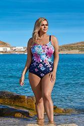 L4283 / 0 Lorin цельный женский купальник большие размеры
