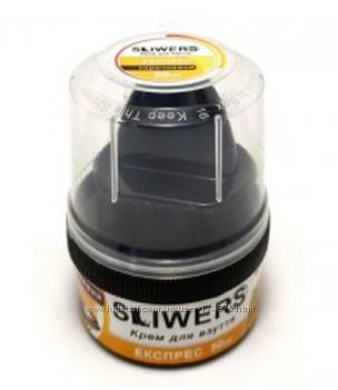 Крем для обуви SLIWERS 50мл прозрачный, чёрный, коричневый