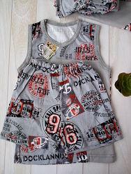 Летняя одежда на мальчика. Футболка, шорты, костюм.