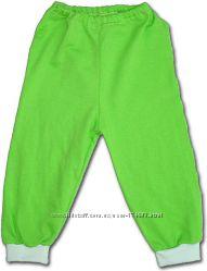 Піжамні штанішки з начосом на ріст 74-80см