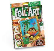 Аппликация цветной фольгой Danko Toys - FOIL ART