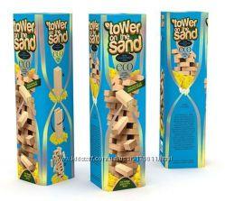 Активная игра jenga Danko Toys Lower sand - vega, джанга, вега