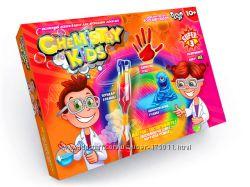 Набор для опытов Danko Toys Chemisty Kids - 10 экспериментов