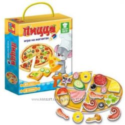 Настольные игры на магнитах Vladi Toys - Пицца, Торт