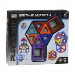 Магнитный конструктор Play Smart 30 деталей